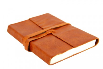 Carnet voyage couverture cuir