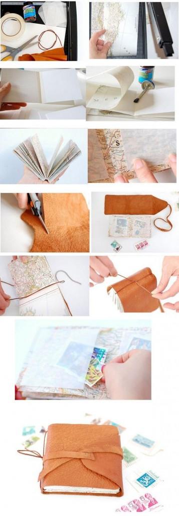 fabriquer carnet voyage