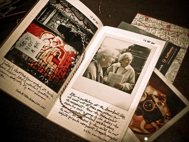 Carnet voyage photographique