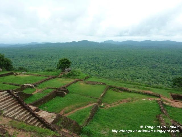 Sigiriya vue sur le Sri Lanka