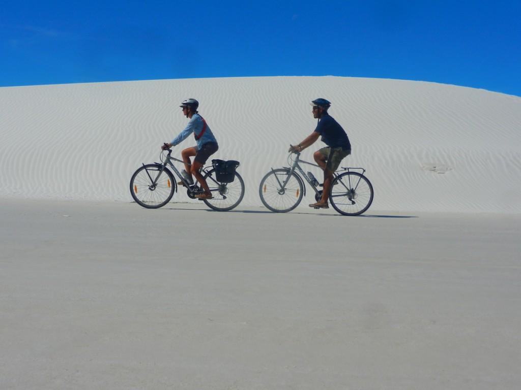 Marie et cédric de cyclogo voyagent à velo