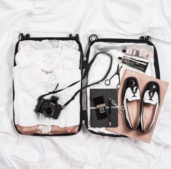 Préparer sa valise pour partir en voyage